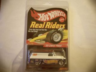 Hot Wheels HWCC Real Riders 55 Chevy Panel Series 6