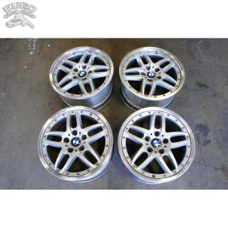 FACTORY OEM 17 STAGGERED WHEELS STYLE 71 BMW E36 E46 330CI M3 Z3 Z4