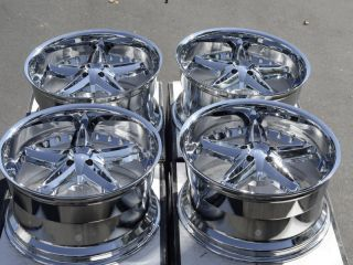 Chrome Wheels Dodge Challenger Charger Magnum Chrysler 300C 300 Rims