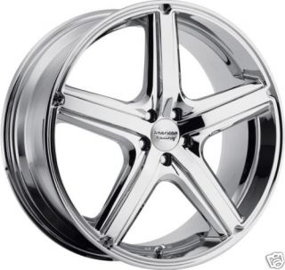 18 Chrome American Racing Wheels Rims Chevy Impala cts Monte Carlo