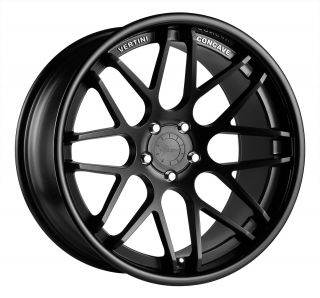 22 Vertini Magic Black Rims Wheels Chevrolet Chevy Camaro LS Lt