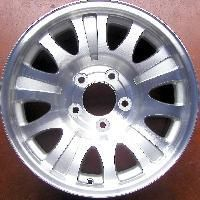 Factory Alloy Wheel Ford F150 01 04 17x7 5 3412