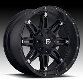 20 Wheels Rims Fuel Hostage Black Suburban Tahoe 1500