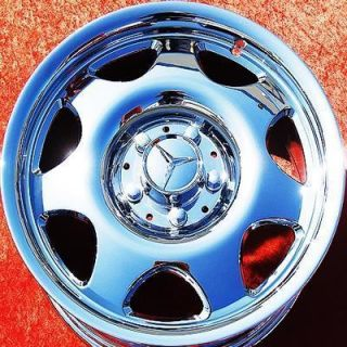 OF 4 NEW 16 MERCEDES BENZ CLK320 OEM CHROME WHEELS RIMS 65179 EXCHANGE