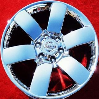 NEW 20 NISSAN ARMADA TITAN OEM CHROME FACTORY WHEELS RIMS QX56 62494