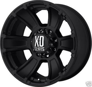 20 XD Series Revoler MT Black Wheels Rims 8x6 5 24mm