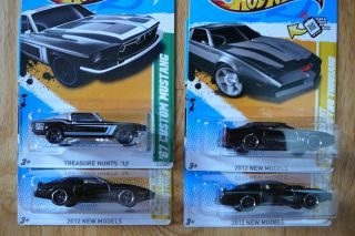 2012 Hotwheels Treasure Hunt 67 Mustang 3 Knight Riders