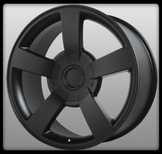 Replicas V1130 Silverado SS Escalade Matte Black Wheels Rims
