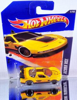 Hot Wheels Acura NSX 2011 HW Performance