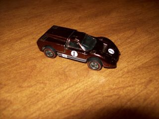 Hot Wheels Redline FORD J CAR BROWN 6214 NICE CLEAN PAINT USA 1968
