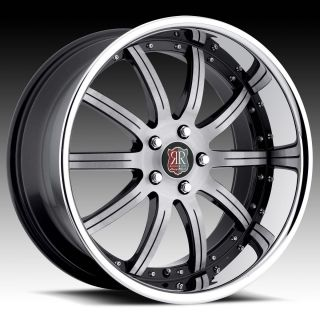 20 Roderick RW3 Rims Wheels Tires for Lexus GS300 gs350 GS400 LS430