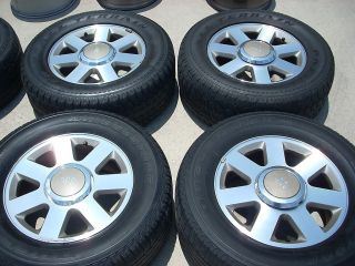 18 FORD F150 KING RANCH WHEELS TIRES RIMS EXPEDITION MARK LT NAVIGATOR