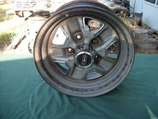 Used 78 87 Olds Cutlass 442 Rally Wheel Center Cap 14x6 for Parts Read