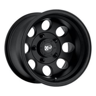 Pro Comp Alloy 15 x 8 Flat Black 8 Hole Wheels 5x4 5 Set of 4