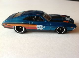 2013 Hot Wheels 72 Ford Gran Torino Sport Super Treasure Hunts Loose