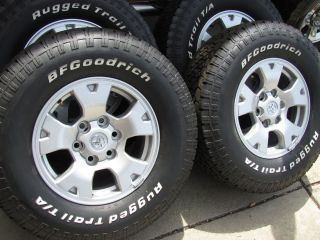 16 OEM TOYOTA TACOMA ALLOY WHEELS BFG 265 70 16 TIRES 4RUNNER TUNDRA