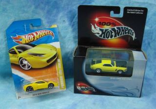 New SEALED 1970 70 Ford Mustang Boss 302 100 Series Hot Wheels HW