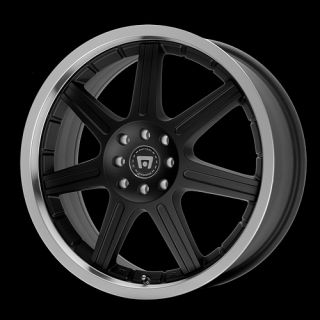 18 x7 5 Motegi MR279 SX7 Black Wheels Rims 4 5 Lug