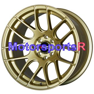 XXR 530 Gold Concave Rims Wheels Stance Old School 4x4 5 71 Datsun 510