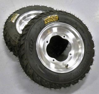 New ATV Front ITP Wheels Tires for Yamaha or Cobra Quad