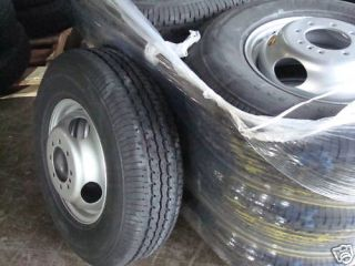 Dually Tires Wheels GN Horse Cattle Trailer Parts