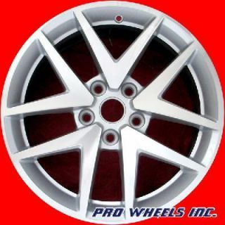 Ford Fusion 17 Machined Silver Factory Original Wheel Rim 3797