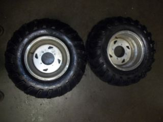 2005 Kawasaki Prairie 700 Rear Wheels Tires Rims