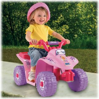 Fisher Price Power Wheels Barbie Lil Quad ATV Ride on N2891 New