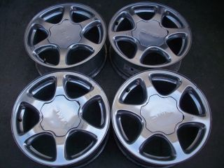 17 GMC Sierra Yukon Denali 1500 Factory Polished Wheels Rims