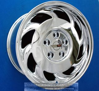 Corvette C4 17 Staggered Chrome Wheel Exchange 93 96
