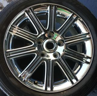 20 Chrysler Aspen 2007 2009 Rim Wheel Chrome Clad