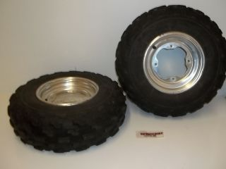 Yamaha Warrior 350 Front Tires and Wheels 4 156 Raptor 350 Y9
