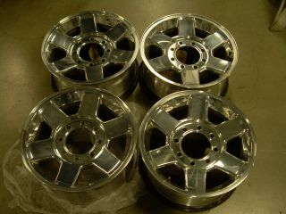 Dodge RAM 2500 Take Off Wheels 17x8 Polished Great Condition