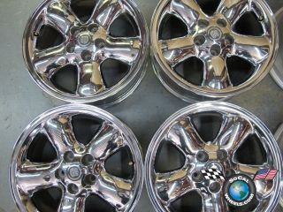 97 99 Cadillac Catera Factory 16 Wheels Chrome OEM Rims 4532 09193125