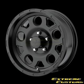 XD Series XD122 Enduro Matte Black 5 6 8 Lug Single Wheel Rim