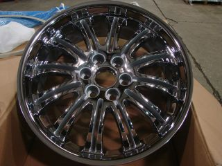 Silverado Sierra Yukon Tahoe Denali Factory Chrome Wheels Rims