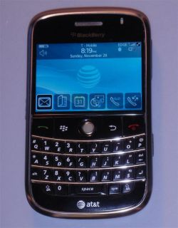 AT&T Blackberry Bold 9000 GSM RIM GPS WiFi Smartphone Unlocked   NEW