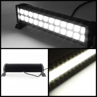 24pcs 3W Off Road LED Light Bar 72 Watt 14 Lighting Flood Truck Jeep