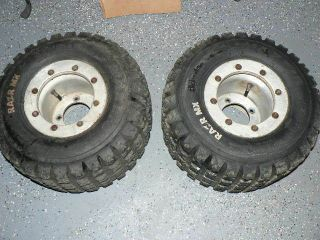 110 MX Maxxis Tires ITP Beadlock Wheels Rims Rear TRX 450r 400ex 50r