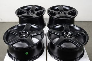 Rims AMG Matte Black Mercedes S500 S430 S350 E550 S600 E320 CLK Wheels