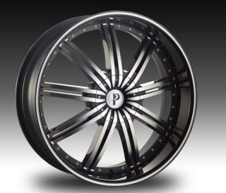 24 inch Phino 18 Lincoln Navigator Rims and Tires