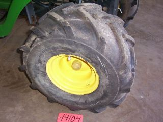 John Deere L118 Rear AG Agriculture Tires and Rims