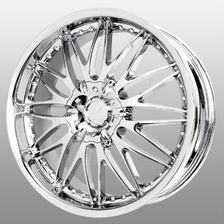 16 inch Verde Regency Chrome Wheels Rims 5x115 cts de Ville DTS DTX El