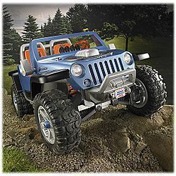 Fisher Price Power Wheels Jeep Hurricane Blue