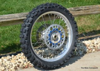 Yamaha YZ450F YZ125 YZ250F YZ250 Rear Back Wheel Tire Rim Hub Spokes