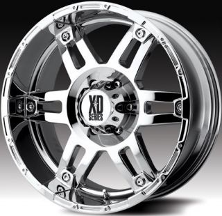 20 inch KMC XD Spy Chrome Wheels Rims 6x135 Ford F150