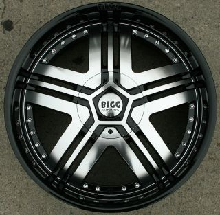 20 Black Rims Wheels Ford Expedition 5 x 135 20 x 8 5 5H 15