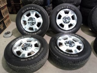 Factory 17 Ford F150 Lariat Wheels and Michelin LTX A s 255 65R17