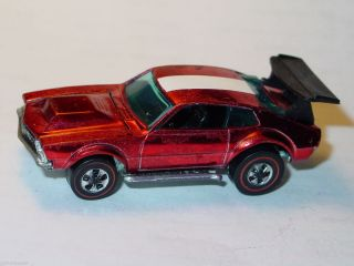 Hot Wheels Redline Mighty Maverick Red Spectraflame Nice