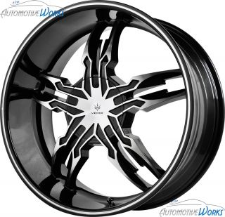 20x8 5 Verde Thorax 6x139 7 6x5 5 18mm Gloss Black Wheels Rims Inch 20